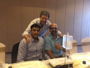 Piezosurgical trainning by Mectron at Srilanka
